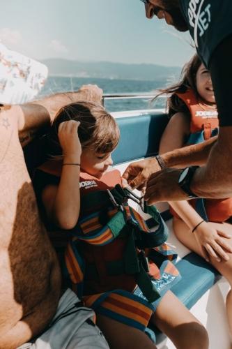 Parachute ascensionnel Ajaccio Enfant