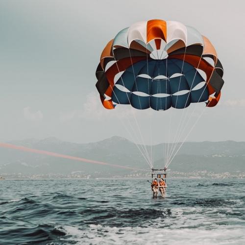 Parachute ascensionnel Ajaccio Porticcio